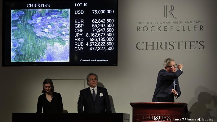 USA Rockefeller-Auktion bricht Rekord (picture alliance/AP Images/J. Jacobson)