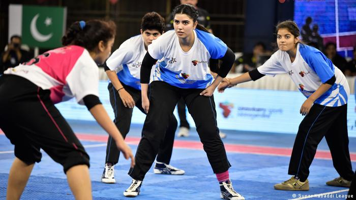 Super Kabaddi League - Pakistanische Kabaddi Spielerinnen (Super Kabaddi League)