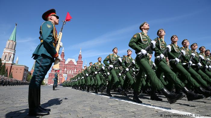Russland Militärparade in Moskau zum Tag des Sieges (Getty Images/AFP/M. Shipenkov)