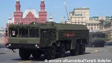 Russland Militärparade in Moskau zum Tag des Sieges