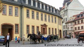 Casa em que Goethe viveu em Weimar