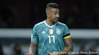 Fußball Länderspiel Deutschland Brasilien Jerome Boateng