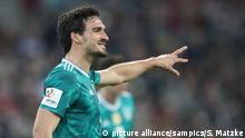 Mats Hummels Deutschland Germany Fussball Länderspiel Deutschland - Spanien 1:1 23.3.2018 Copyright by : sampics Photographie |