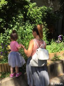 Gülsah e a filha Emilia: fim do sonho de um parto sereno