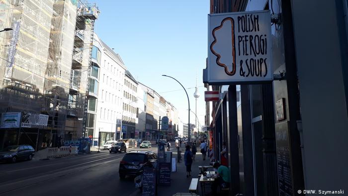 Lokal z polskim jedzeniem w modnej dzielnicy Mitte