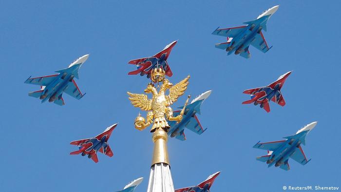Russland Tag des Sieges Militärparade in Moskau (Reuters/M. Shemetov)