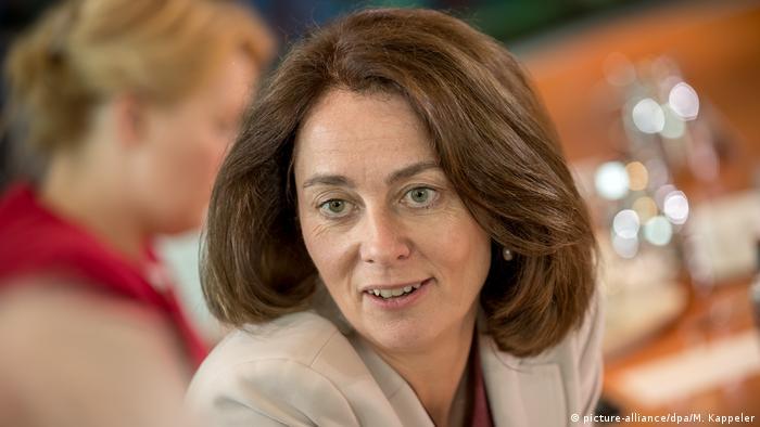 Deutschland Bundeskabinett Katarina Barley