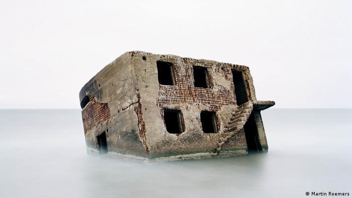 Руины советской военно-морской базы в Латвии
