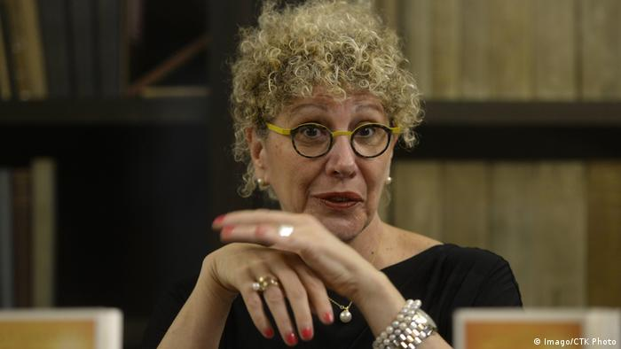 Israeli author Lizzie Doron, pictured in Prague in 2016.