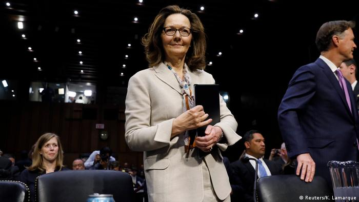 USA Gina Haspel, designierte CIA-Direktorin | Anhörung Senate Intelligence Committee in Washington (Reuters/K. Lamarque)