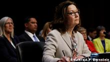 USA Gina Haspel, designierte CIA-Direktorin | Anhörung Senate Intelligence Committee in Washington