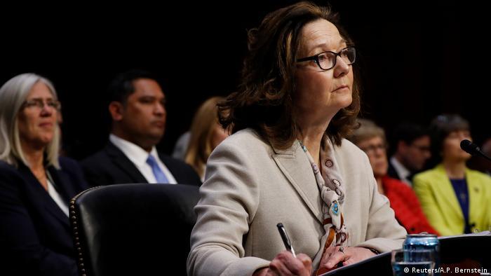 USA Gina Haspel, designierte CIA-Direktorin   Anhörung Senate Intelligence Committee in Washington