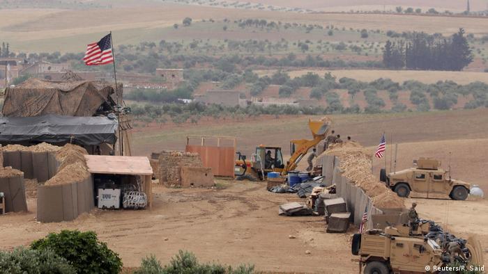 ABD, TSK'ya karşı YPG ile birlikte Münbiç'te askeri üs kurdu