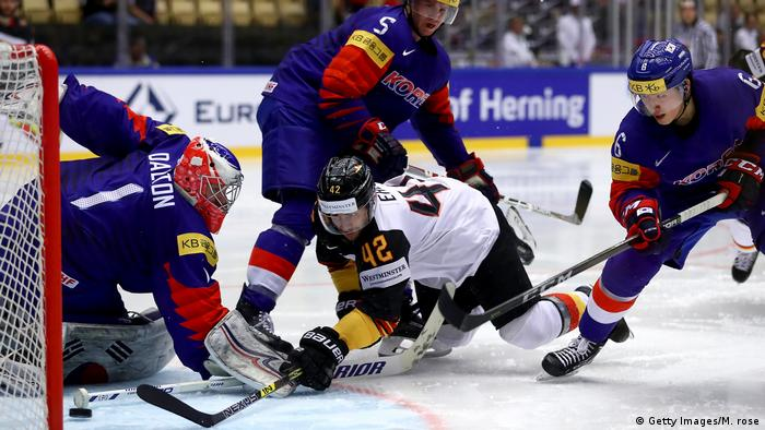 Eishockey WM Deutschland v Südkorea - 2018 IIHF Ice Hockey World Championship