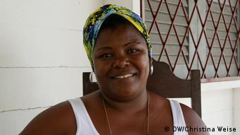Quilombola Claudinete Cole de Souza: Vamos ficar aqui e vamos apoiar os outros
