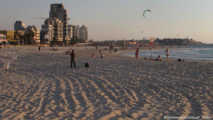 Israel - the beach in Tel Aviv