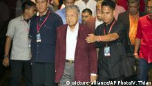 Malaysia Wahlsieger Mahathir Mohamad