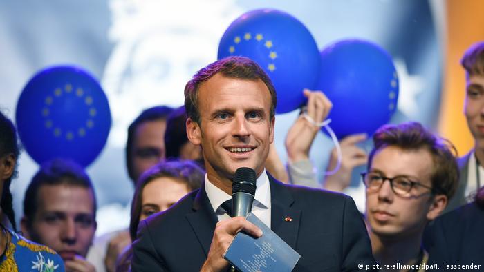 Deutschland | Frankreichs Staatspräsident Macron besucht Aachen
