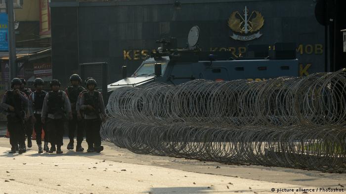 Indonesien | Polizei beendet Gefängnisaufstand (picture alliance / Photoshot)