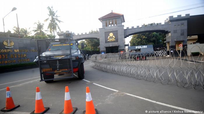 Indonesien | Polizei beendet Gefängnisaufstand (picture alliance / Xinhua News Agency)