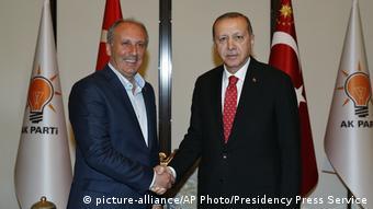 Δεν έχουμε κανένα κοινό στοιχείο με τον Ερντογάν δηλώνει στην DW ο υποψήφιος του CHP Μουχαρέμ Ιντζέ