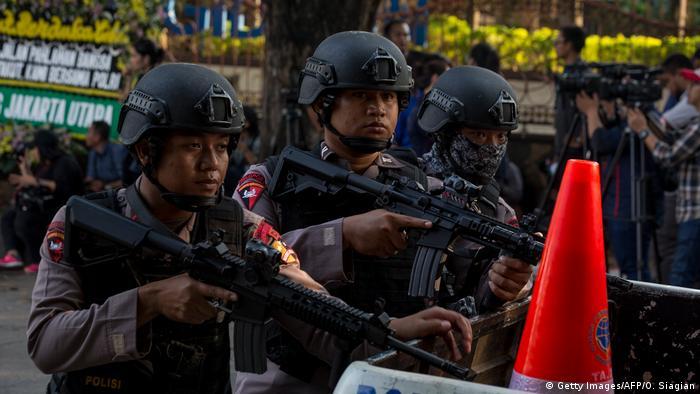 Indonesien Gefängnisaufstand (Getty Images/AFP/O. Siagian)
