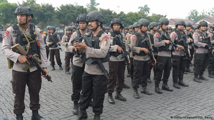 Indonesien Gefängnisaufstand (Getty Images/AFP/A. Berry)