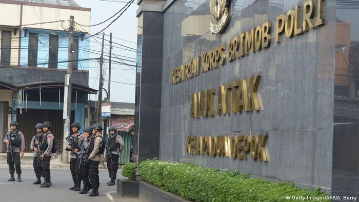 Indonesien Gefängnisaufstand (Getty Images/AFP/A. Berry)