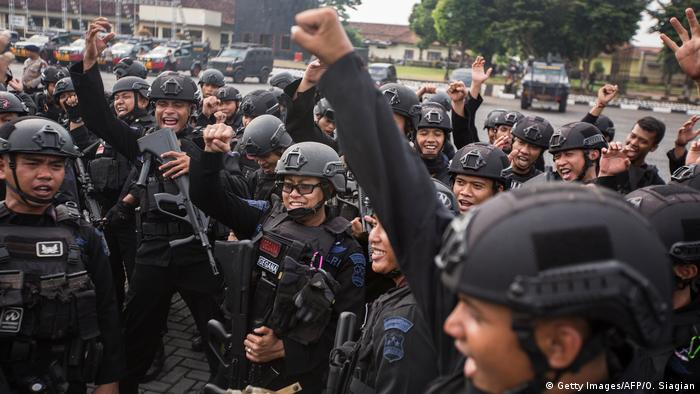 Indonesien Gefängnisaufstand (Getty Images/AFP/O. Siagian)
