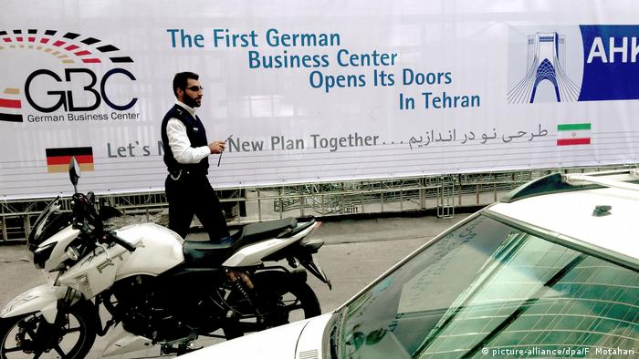 German Business Center opens in Tehran, Iran (picture-alliance/dpa/F. Motahari)