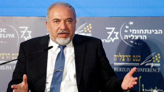 Avigdor Lieberman, ministro de Defensa de Israel.