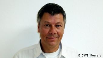Hans-Jürgen Burchardt, Direktor des Instituts für Lateinamerika-Studien CELA (DW/E. Romero)