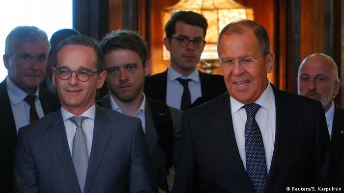 Außenminister Heiko Maas in Moskau (Reuters/S. Karpukhin)