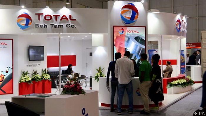 Total stand at a trade fai