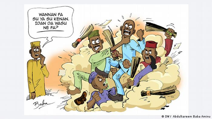 Karikatur: Nigeria APC Streit