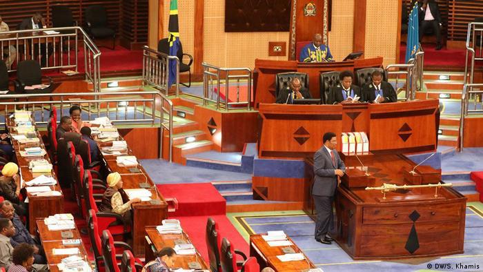 Tansania Nationalversammlung 2018