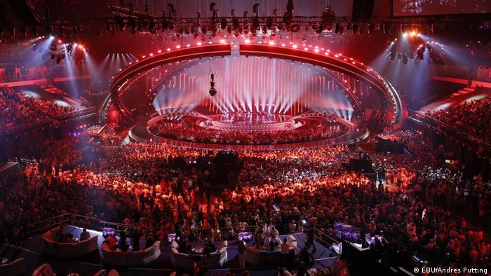 Арена конкурса Евровидение-2018 в Лиссабоне
