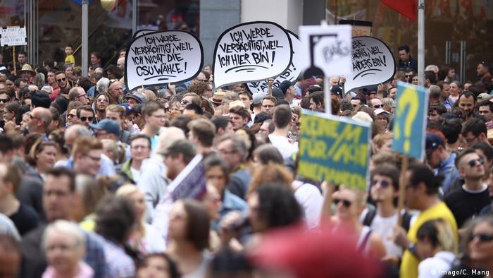 Protests in Bavaria (Imago/C. Mang)