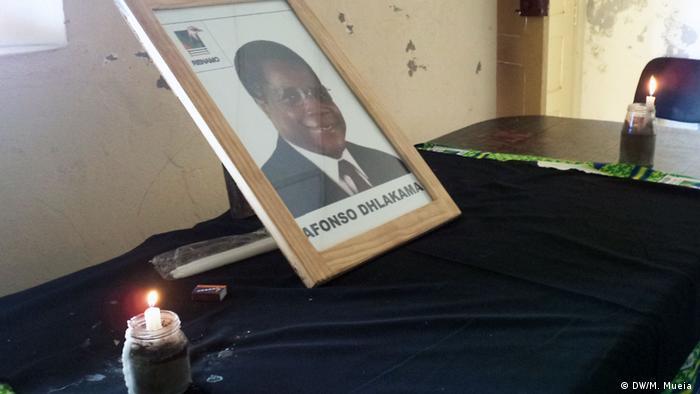 Mosambik Letzte Hommage an Afonso Dhlakama in Zambezia