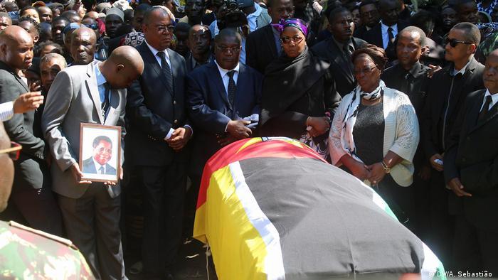 Mosambik Beerdigung von Afonso Dhlakama