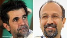 Kombobild Jafar Panahi und Asghar Farhadi