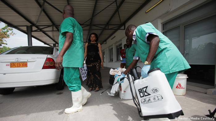 Kongo Training für Ebola-Ausbruch 2014 (Reuters/Media Coulibaly)