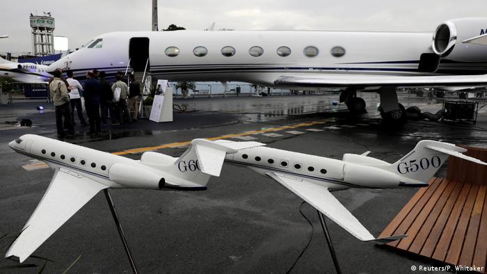 Brasilien Flugzeug Gulfstream G550