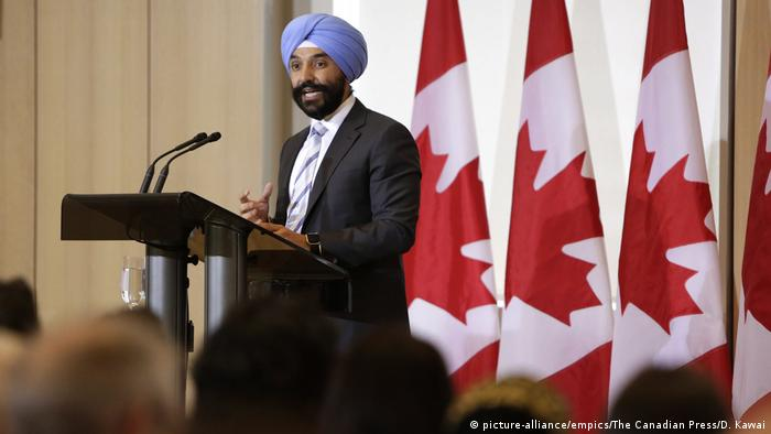 Kanada, Navdeep Bains, Minister für Innovation (picture-alliance/empics/The Canadian Press/D. Kawai)
