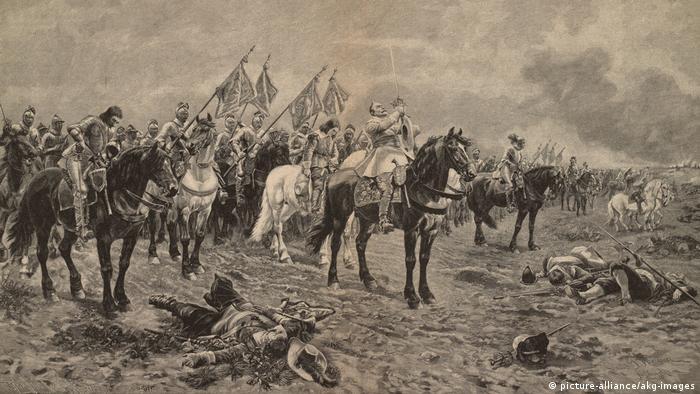 جنگ سیساله - گوستاو آدولف در نزدیکی لوتسن