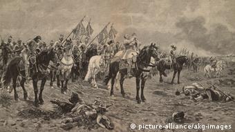 Dreißigjähriger Krieg - Gustav Adolf bei Luetzen (picture-alliance/akg-images)