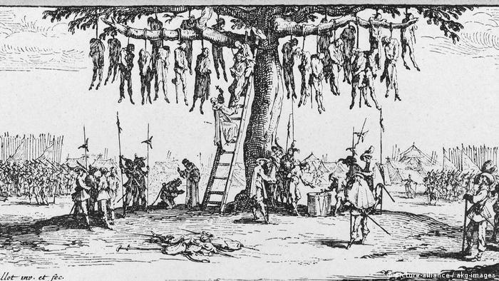 درخت اعدام، اثر ژاک کالو