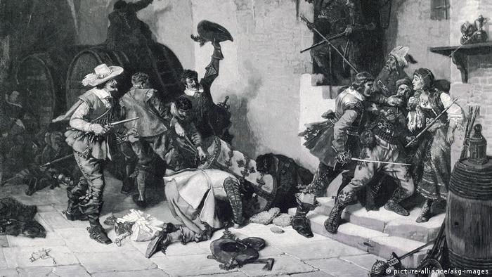 جنگ سیساله - تصویری از غارت