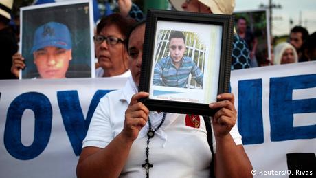 Nicaragua - Proteste in Managua (Reuters/O. Rivas)