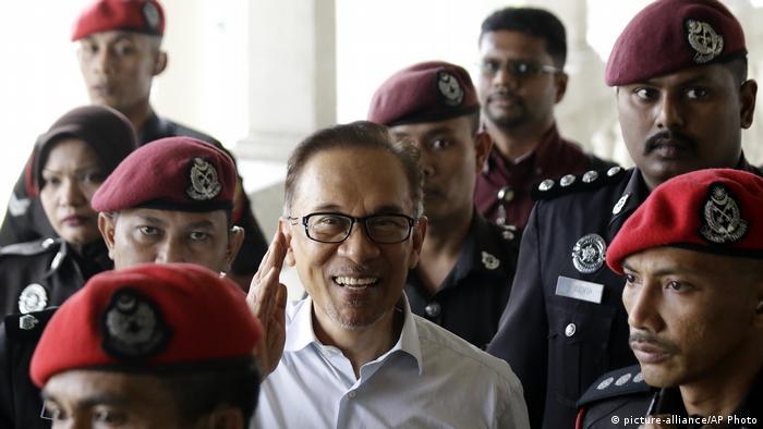 Malaysien, Kuala Lumpur: Premierminister Anwar Ibrahim (picture-alliance/AP Photo)